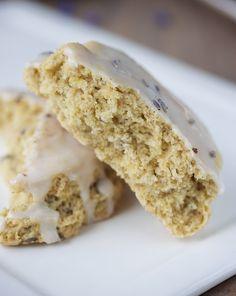 Lavender Vanilla Bean Scones ~ Vegan & Gluten Free