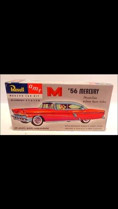 1/32 scale model kit '56 Merc