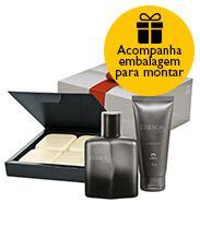 Presente Natura Essencial Estilo Masculino - Deo Parfum + Gel pós Barba + Sabonete em Barra + Embalagem Desmontada http://rede.natura.net/espaco/novo