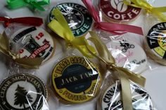 Corporate Cookies with Logo, http://www.pinkcakeland.co.uk