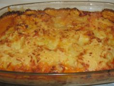 Lasagna, Macaroni And Cheese, Lunch, Meat, Dinner, Healthy, Ethnic Recipes, Sausages, Food