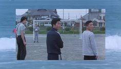 """Music: """"Found"""" by Midnight Runners  [https://soundcloud.com/juicytunes/midnight-runners-found]  Movie: """"A scene at the sea""""(あの夏、いちばん静かな海),1991, directed by Takeshi Kitano"""