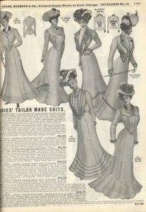 La mode au XIXe (6e partie ) : 1888 à 1914 | http://catherine-loiseau.fr/ceux-du-mercure/ressource/la-mode-au-xixe-6e-partie-1888-a-1914