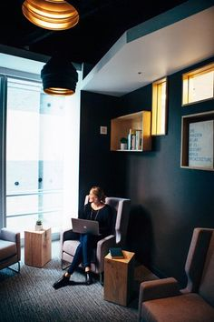 Quiet room - A room for introverts to either read, write, or work in a quiet space for short stints of time