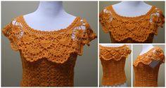 Crochet Woven Blouse