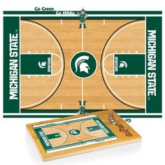 Use this Exclusive coupon code: PINFIVE to receive an additional 5% off the Michigan State University BB Icon Cheese Board at SportsFansPlus.com