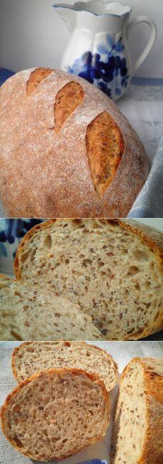Хлеб с льняным семенем - СОЛНЕЧНЫЙ ПЕКАРЬ