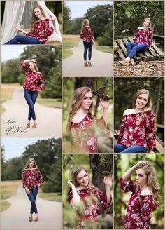 Ponder Texas Cheerleader Senior Pictures by Dallas Photographer Lisa McNiel