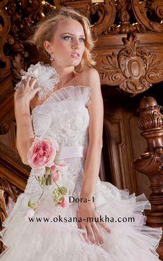 Wedding dress by Oksana Mukha