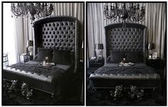 gothic. bed. black. awesome.