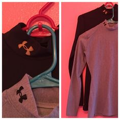 Under Amour Compression Shirts Under Armour Long Sleeve Compression Shirts | Size M | Gray and Black  $20 for both or $15 separately. Logo on the black shirt is discolored, but no flaws otherwise! ✨  Offers considered, bundles welcome, and any questions are encouraged!  Under Armour Tops Tees - Long Sleeve