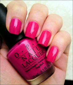 The polish that started my love for OPI - You're a Pisa Work.