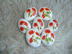 Velikonoční vajíčka - vlčí máky