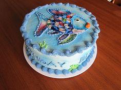Rainbow Fish    Wendy's Cake Space: children's birthday cake