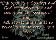 Scott Cunningham Quotes | Paganism/Spirituality/Fantasy / Scott Cunningham quote.