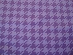 Purple Houndstooth Snuggle Flannel sewing and by flyingdollar, $5.99