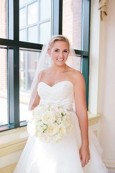 @palomablancawed Blush and White Wedding at Charleston Place Hotel, SC | Paige Winn Photo | See more on My Hotel Wedding: http://www.myhotelwedding.com/blog/2015/11/12/blush-and-white-wedding-at-charleston-place-hotel-sc/