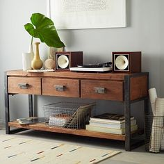 Bin Pull Console http://www.westelm.com/products/bin-pull-console-h430/?pkey=ccoffee-side-tables&cm_src=coffee-side-tables||NoFacet-_-NoFacet-_--_- $1049