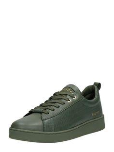 lowest price 47593 d0d9e Cruyff Sylva lage dames sneakers van hoge kwaliteit leer met subtiele  reptielenprint