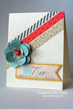 Washi Tape Card 1