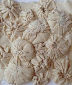 Fabric manipulation, Suffolk puffs, Julia Wright