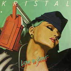 Kristal Love In Stereo records, LPs and CDs Lp Cover, Vinyl Cover, Cover Art, Collages, Italo Disco, Lps, Disney Characters, Fictional Characters, Album