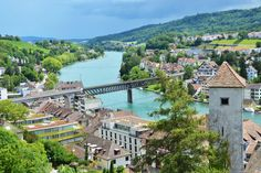 A lively medieval town located an hour north of Zurich, Schaffhausen is best known as the gateway to one of Switzerland's most famous tourist attractions – the Rhine Falls.