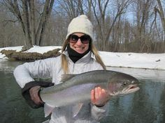 Steelhead on the Manistee