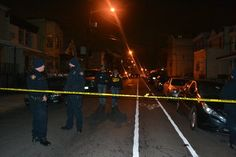 The Hudson County Prosecutor's Office is on the scene of a multiple shooting on Fulton Avenue tonight.