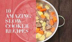 This week try throwing these quick and easy slow cooker recipes together before leaving the house.