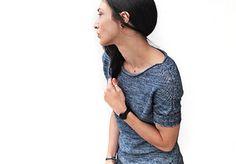 Ravelry: CineCittà pattern by La Maison Rililie Summer Knitting, Easy Knitting, Sweater Knitting Patterns, Knit Patterns, Summer Sweaters, Knit Sweaters, Ravelry, Short Sleeves, Flow
