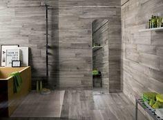 Wood Tile In Bathroom pavimenti medi destinati ad assomigliare brevi pavimenti in legno