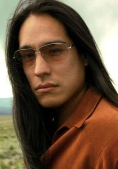 Michael Spears - Into the West - He is a member of the Lakota Sioux Lower Brule Tribe of South Dakota.