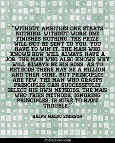 Ralph Waldo Emerson Quotes   http://noblequotes.com/