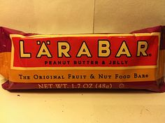 Crazy Food Dude Review: Larabar Peanut Butter & Jelly Food Bar