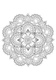 """Mandala (Sanskerta: मण्डल; secara harafiah bermakna """"lingkaran"""") adalah sebuah konsep Hindu, tetapi juga dipakai dalam konteks..."""