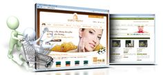 Skin care e-commerce website design. Storefront design and development of e-commerce solutions for the skin care industry.