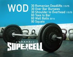 #CrossFit at #Supercell #WOD 148