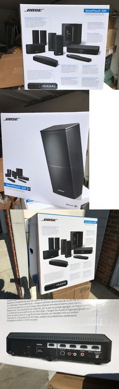 Home Theater Systems: New Bose Soundtouch 520. Compatible With 4K Tv. Wifi And Bluetooth.New, Sealed -> BUY IT NOW ONLY: $1199 on eBay!