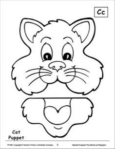 The Letter C: Cat Alphabet Puppet