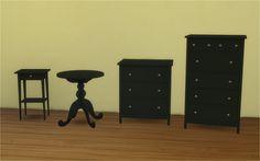 Veranka's TS4 Downloads | IKEA HEMNES Bedroom & Mattresses for Bed Frames ...