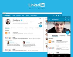 I have been seen incredible designs using Google's new Material Design, so I decided put it on practice too.This is how I think Linkedin could be with Material Design.