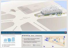 Société Foncière Lyonnaise by VISIMMO 3D. Projet de réhabilitation d'immeubles au 104-110 bd Haussmann à Paris.