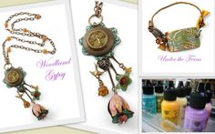 Floral Layers, Filigree, Melt Art, Patinas, Embossing & More!
