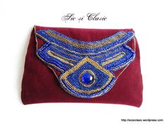 Embroidery handbags Chic and Classic