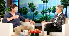 Ashton Kutcher opened up about his daughter Wyatt's love for dance and his secret wedding to Mila Kunis on 'The Ellen DeGeneres Show' — watch! Ellen Degeneres Show, Ashton Kutcher, Mila Kunis, Celebrity Moms, Gossip, Daughter, In This Moment, Dance, Teaching