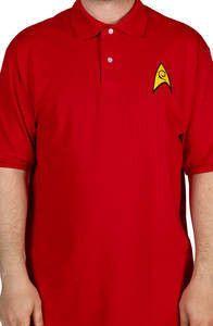 Engineering Star Trek Polo Shirt