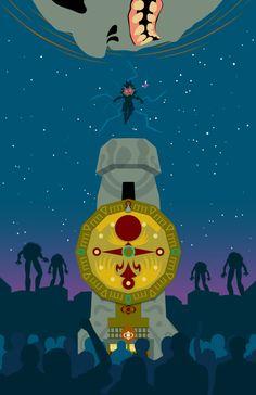 """I shall consume"" by David Ryan Andersson - Zelda: Majora's Mask 12th anniversary series #Majora"