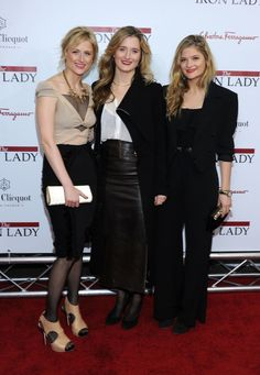 Last night's premiere of Meryl Streep's Mamie, Grace and Louisa Gummer