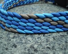 Martingale Style Dog Collar Braided by BraidingAndBeyond on Etsy